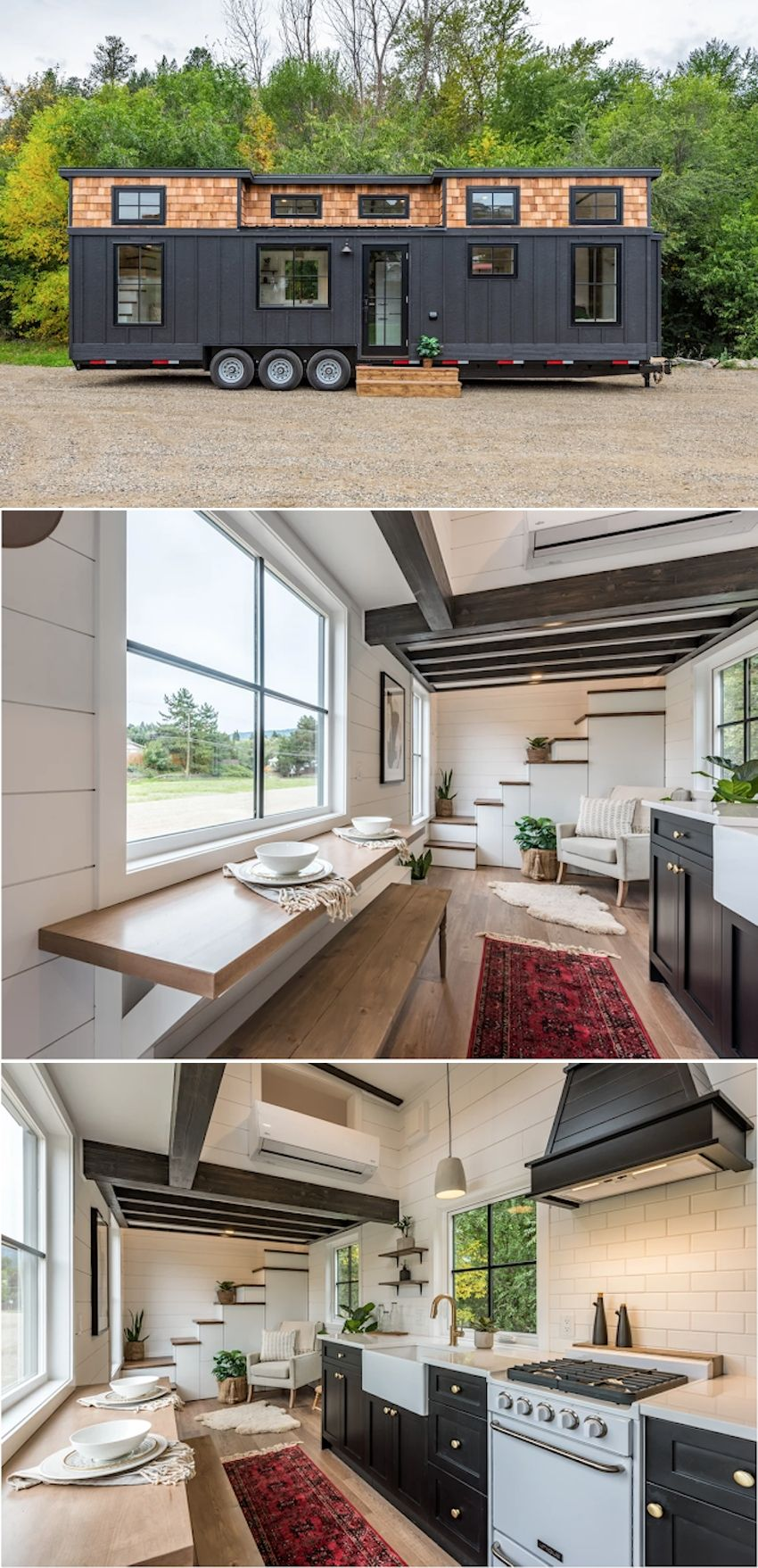 Photo of Modern Bohemian Tiny House can Accommodate up to Six People