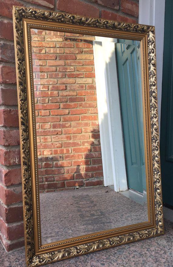 5e0986e22186 Ornate Gold Mirror by Gallery Framing