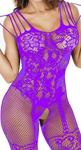 792a675ed4 Daisland Women Sexy Lingerie Sleepwear Nightwear Fishnet Bodysuit  Bodystocking     Want to know more
