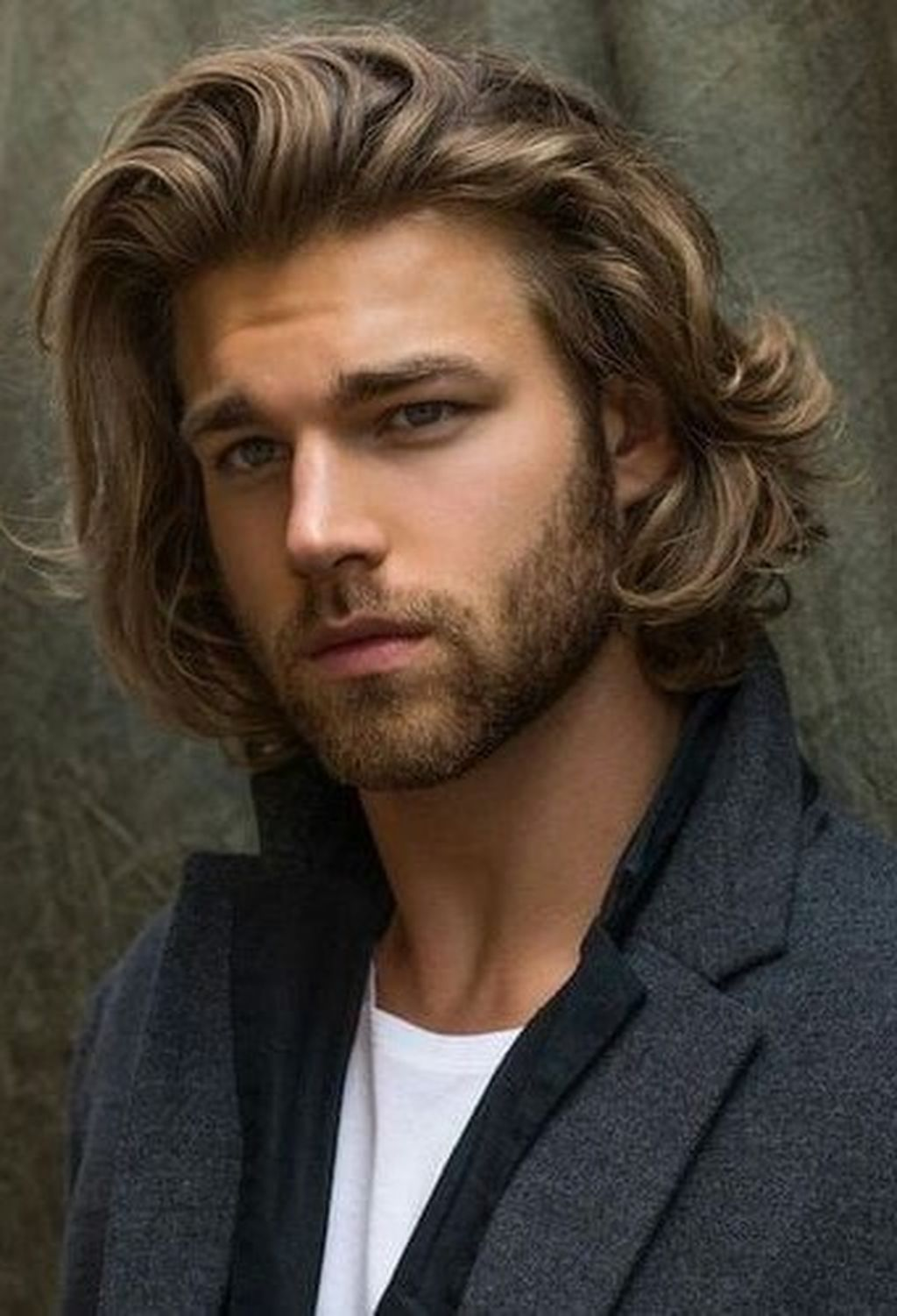 40 lovely hairstyles ideas for medium hair men to have