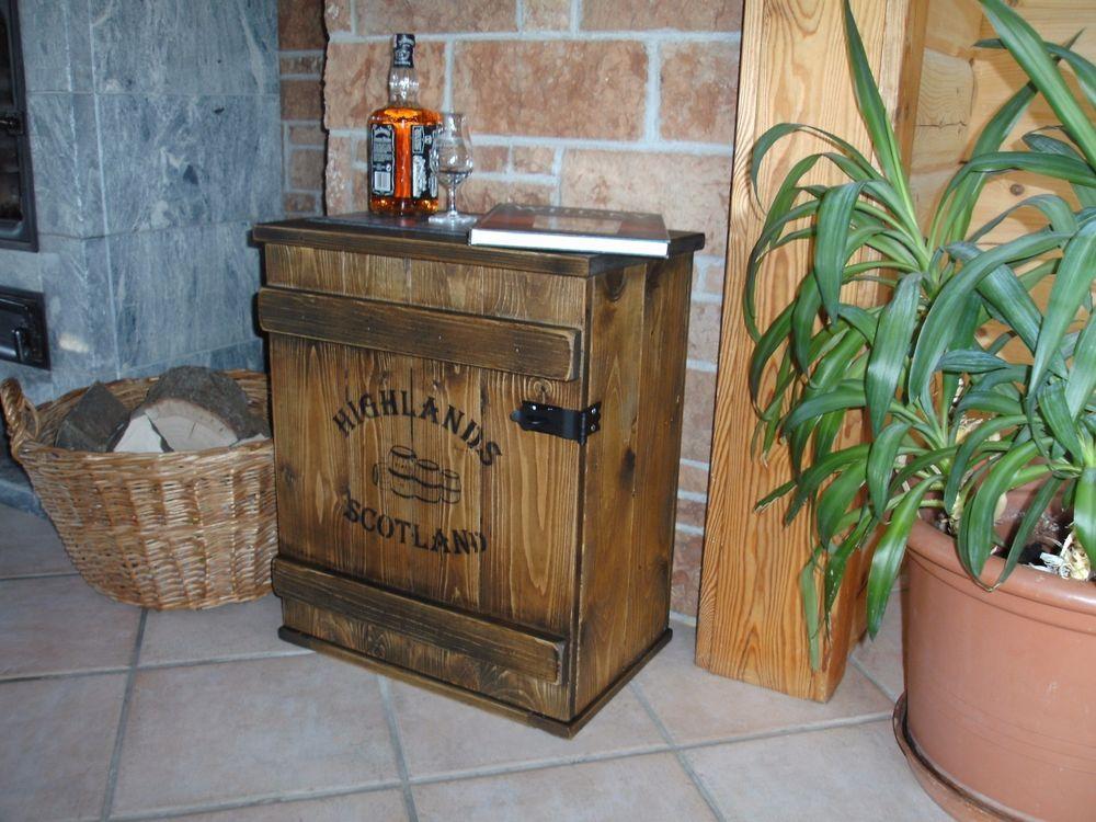 bar whiskey frachtkiste single malt shabby vintage schrank. Black Bedroom Furniture Sets. Home Design Ideas