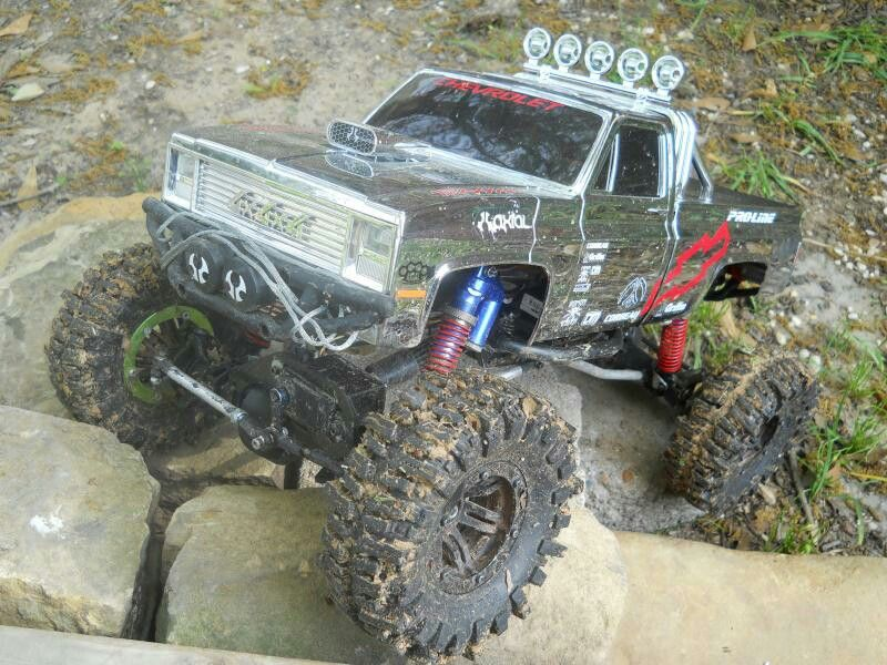 Cool Clodbuster body on Scx10 frame Come see crawlers like this at ...