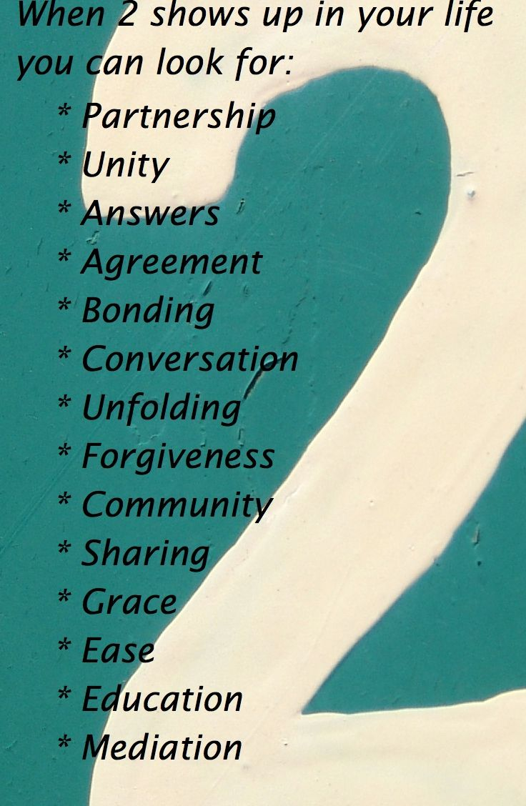 What does the number 2 mean for you in your life numerology what does the number 2 mean for you in your life biocorpaavc Choice Image