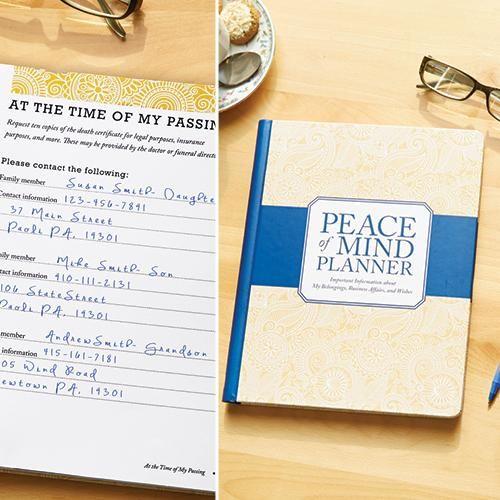 PEACE OF MIND PLANNER | Better Senior Living