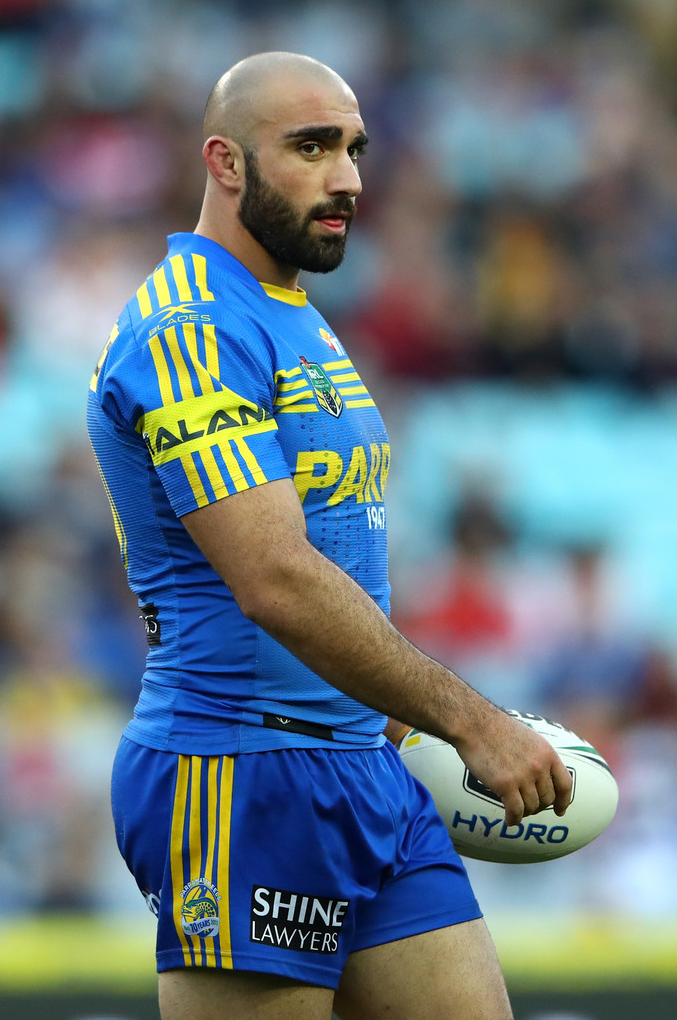 Footy Players Tim Mannah Of The Parramatta Eels Hot Rugby Players Rugby Men Rugby Players