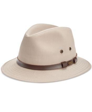 fdee54167 Dorfman Pacific Stetson Men Gable Rain Safari Hat in 2019   Products ...
