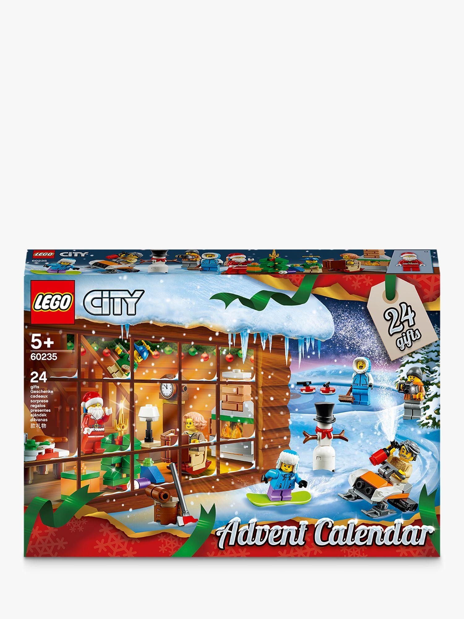 Lego City 60235 Advent Calendar Lego City Advent Calendar