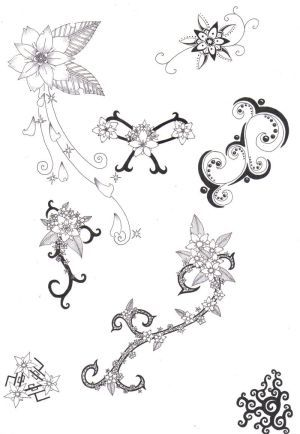 Celtic Flower Lily Celtic Flower Tattoos On Your Flower Tattoo Designs Flower Wrist Tattoos Tattoos