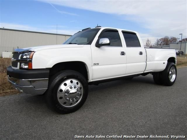 2004 Chevrolet Silverado 3500 Lt 4x4 Crew Cab Long Bed Dually For