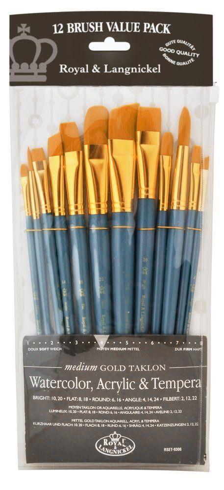 The 5 Best Acrylic Paint Brushes Acrylic Paint Brushes
