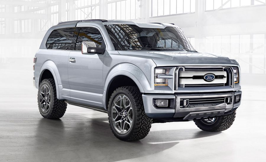 2020 Ford Bronco Because the Wrangler Can't Have All the