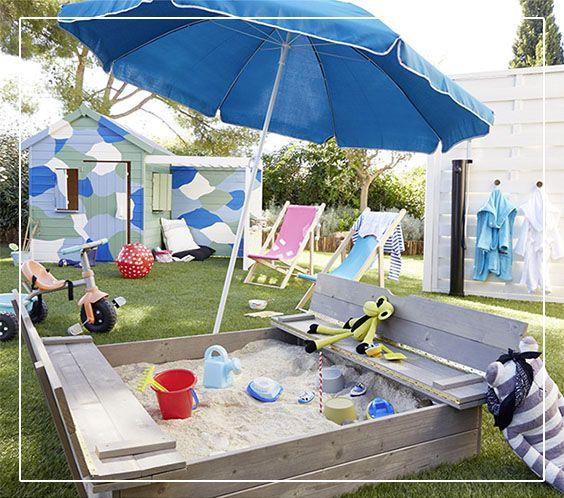 fabulous bac sable bois avec bancs rabattables soulet x cm. Black Bedroom Furniture Sets. Home Design Ideas
