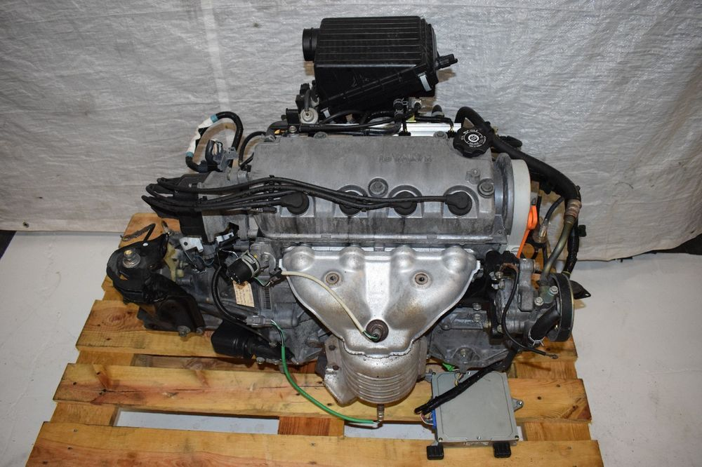 JDM 1996-2000 Honda Civic D15B NON VTEC Engine and 5 Sd ... on