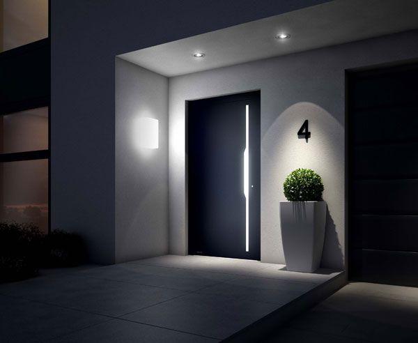 Den Hauseingang ins rechte Licht rücken #house