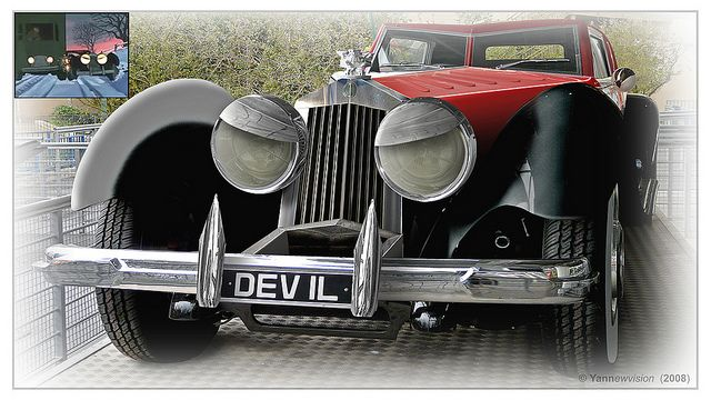 Cruella's Car (Photomontage) / 101 Dalmatians ... Cruella Deville Car Disney