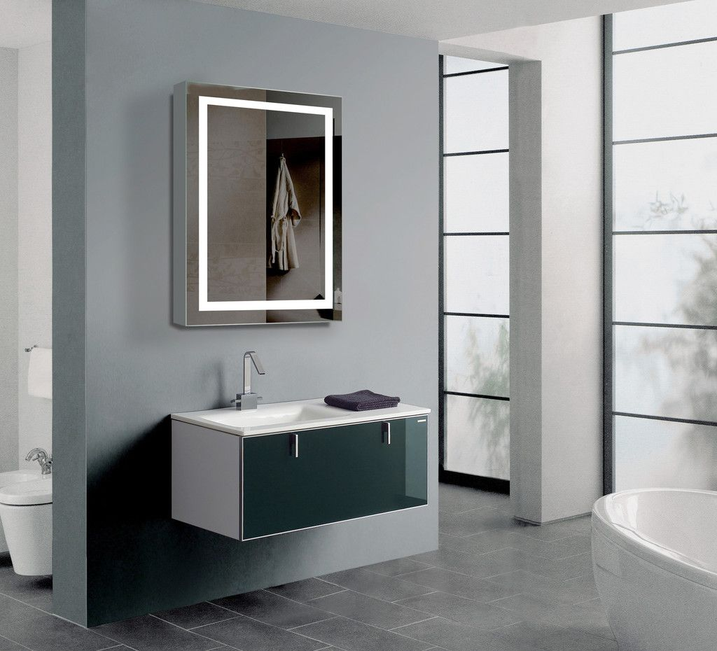 Type lighted cabinets shape rectangle size 24 x 32 x 5 14 explore vanity cabinet mirror cabinets and more xflitez Images