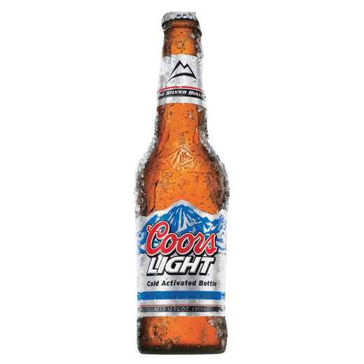 Coors Light Coors Light Beer Beer Bottle