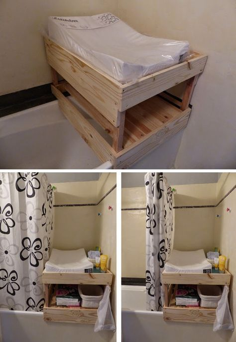 Fabrication D Une Table A Langer Sur Mesure A Poser Sur La Baignoire