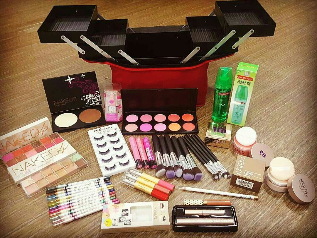 Set Makeup Mak Andam 21 Item Wasap0172761330 Follow Ig Cosmetic Make Up Brush 11 With Pouch Kuas Anzbeauty Collection