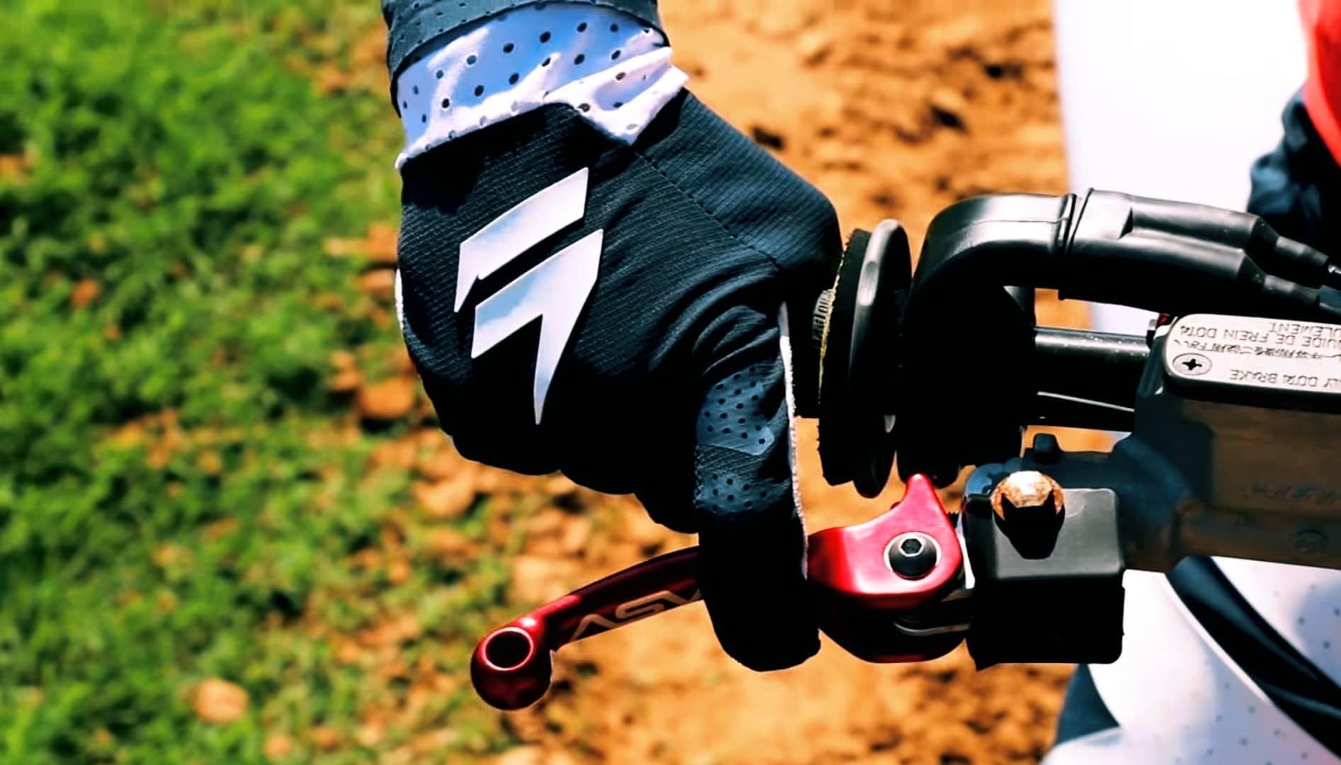 Master In Controlling The Throttle Bike Ride Dirt Bike Bike