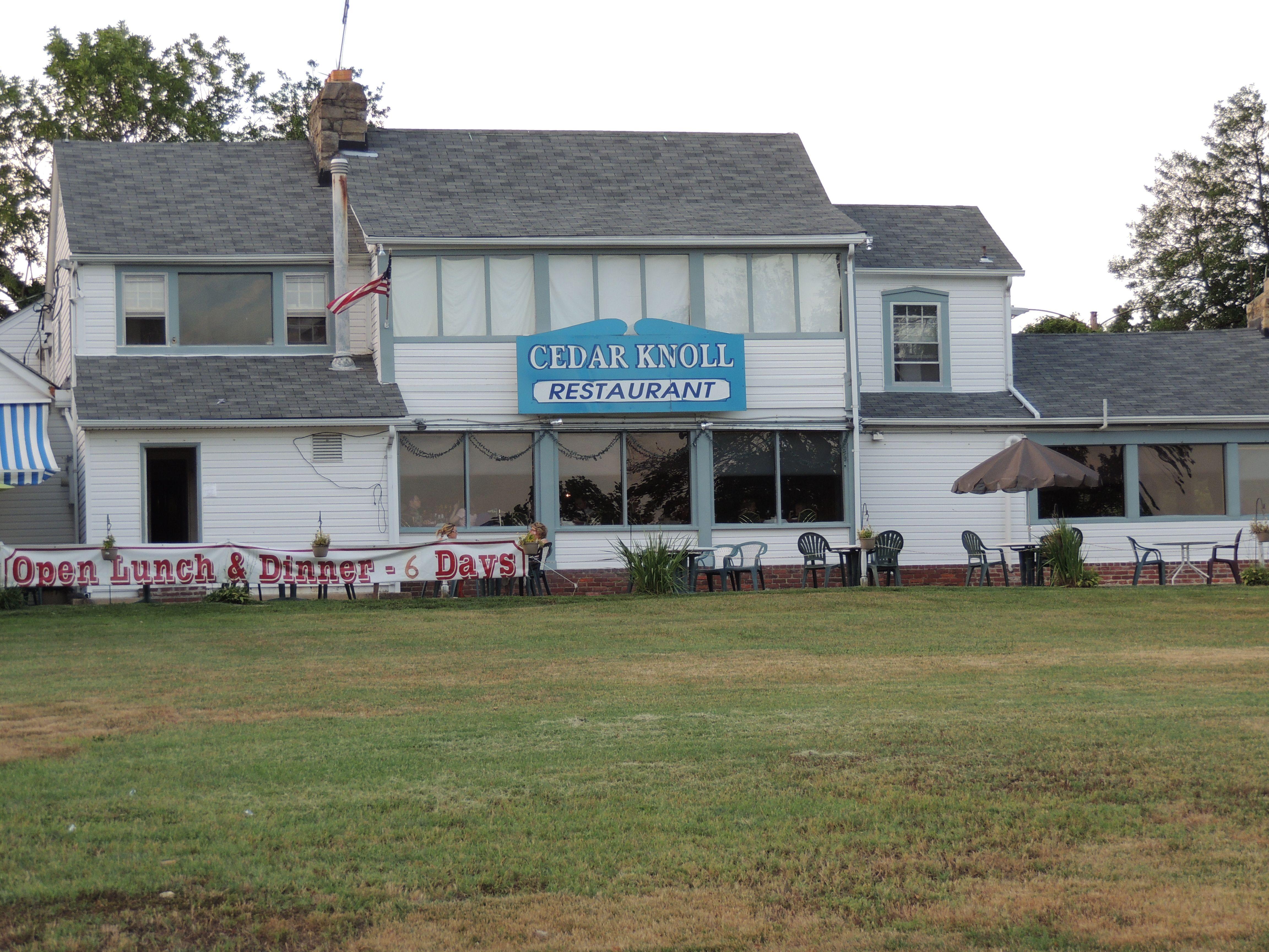 Cedar Knoll Restaurant Is Located On The George Washington