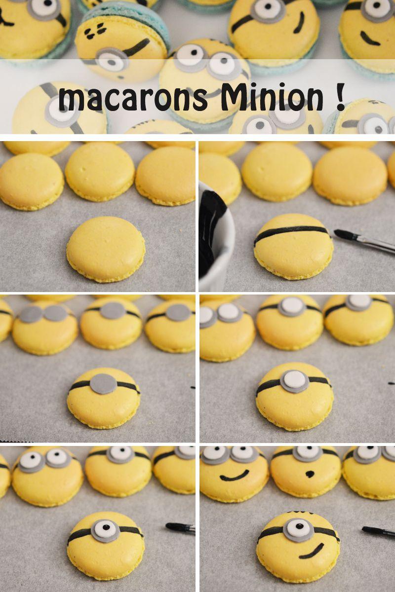 macarons minions kuchen und torten macaroons macarons und cookies. Black Bedroom Furniture Sets. Home Design Ideas