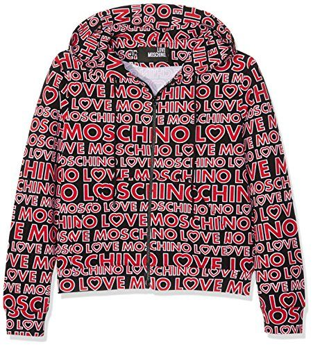 Pin von Frauen Fashion auf Mode | Kapuzenjacke, Jacken, Moschino