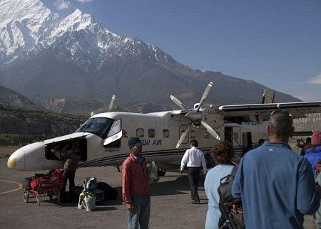 Annapurna base camp trek arrive