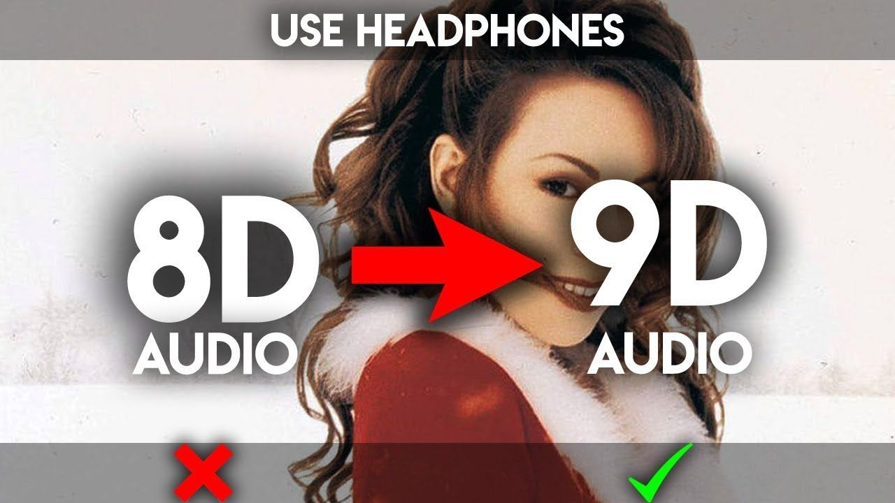 Mariah Carey All I Want For Christmas Is You 9d Audio Not 8d Mariah Carey Things I Want Mariah