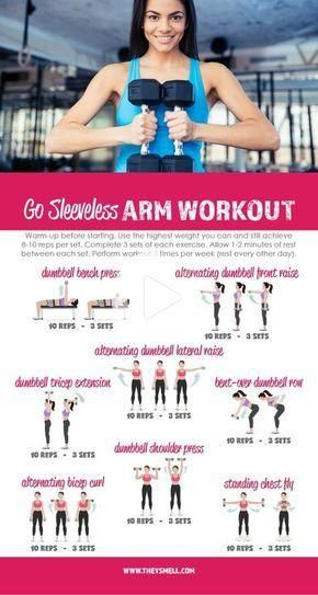 Me Time at the Gym - Get Your Arms in Shape for Spring Fashion with this free printable Go Sleeveles...
