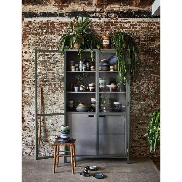 HK Living Keramik 70u0027s Espresso Tasse, galaxy HK Living bringt Dir - küche 70er stil