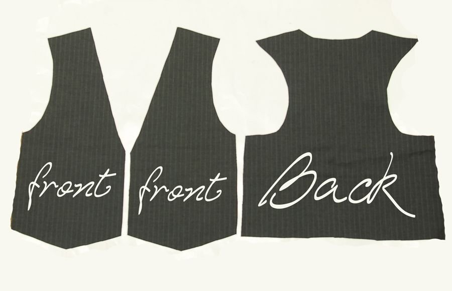 Vest patterns to sew free vest pattern is pretty easy i for Vest top template