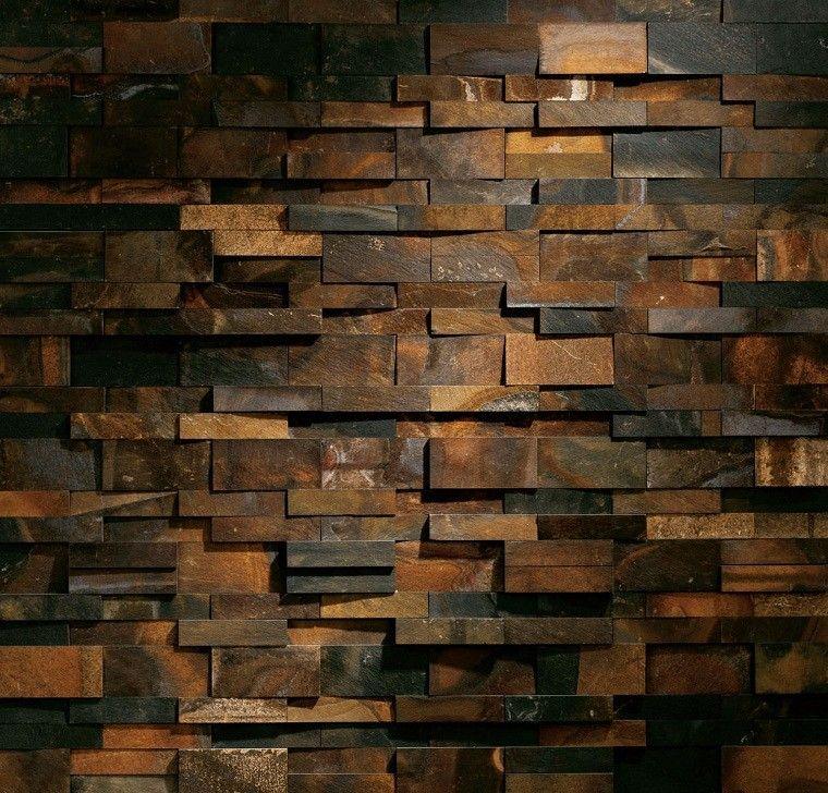 Revestimiento de paredes interiores creatividad y estilo - Madera para paredes ...