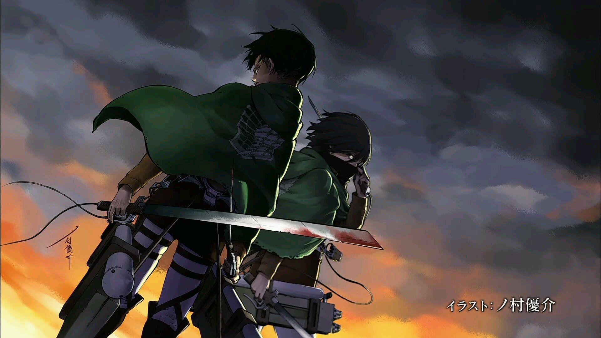 Shingeki no Kyojin/Attack on Titan Season One End Cards