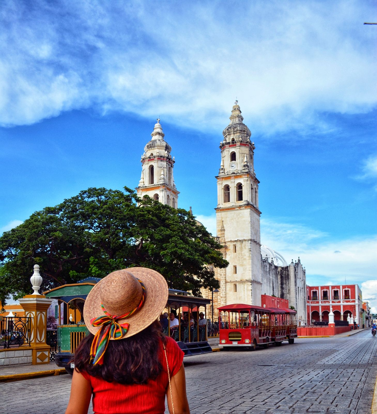 En Campeche, la vida parece ir a otro ritmo.