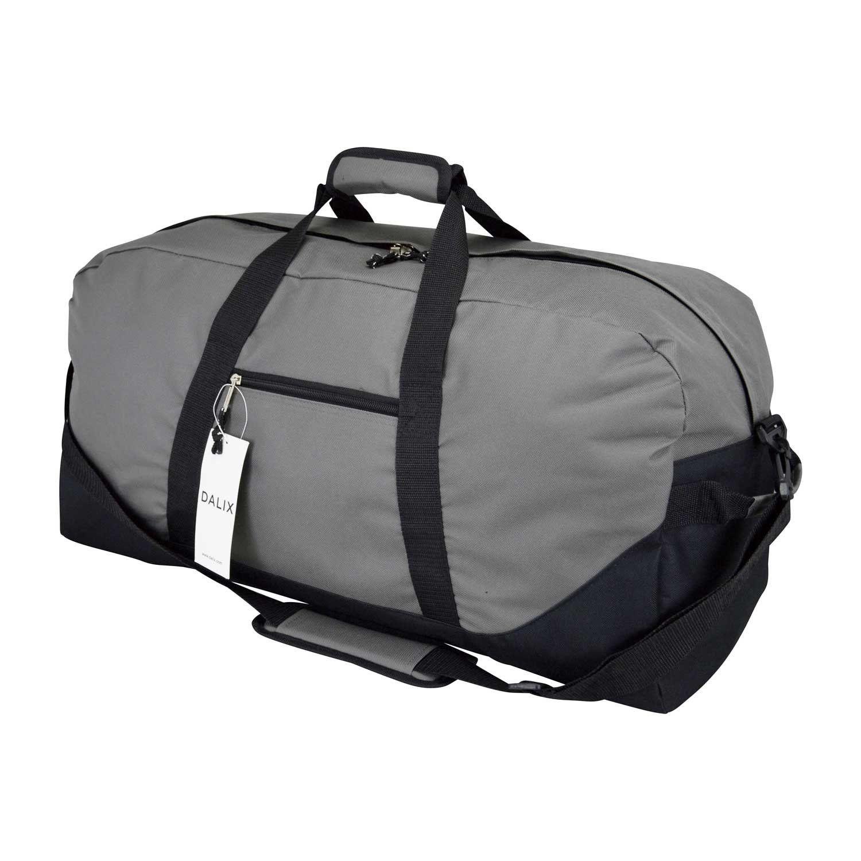 DALIX 25  Big Adventure Large Gym Sports Duffle Bag (Black Grey Navy Blue  Red Camo) -- Click image to review more details. c5531efecb067