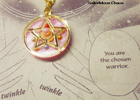 to enrich my Sailor Moon necklaces collection