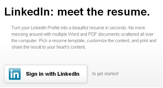 how to turn your linkedin profile into resume http resume