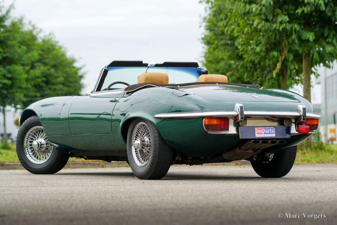 Jaguar e-type V12 roadster, 1973 - Classicargarage - NL ...