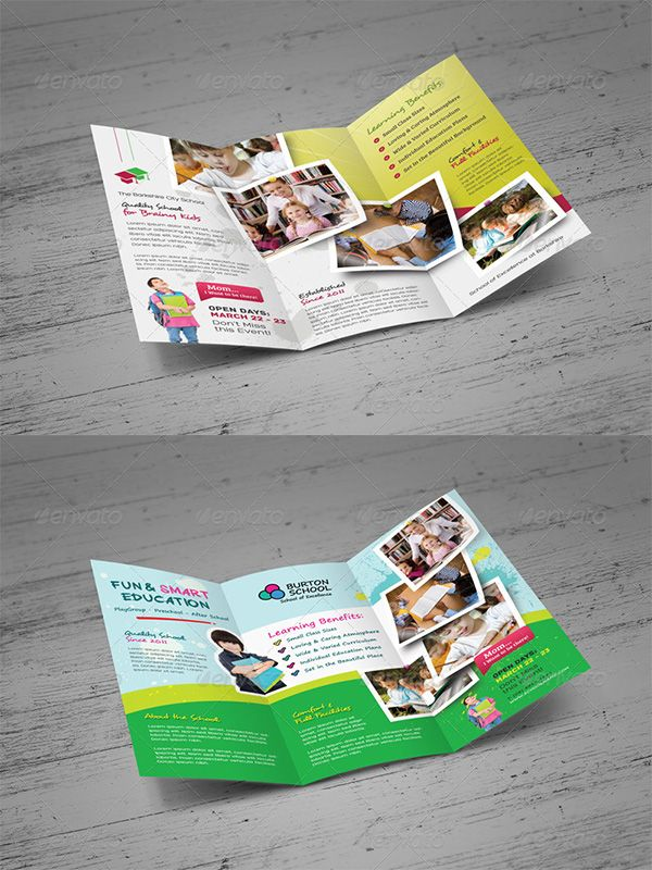 Modern Brochure Template Brochures And Flyers Design Pinterest