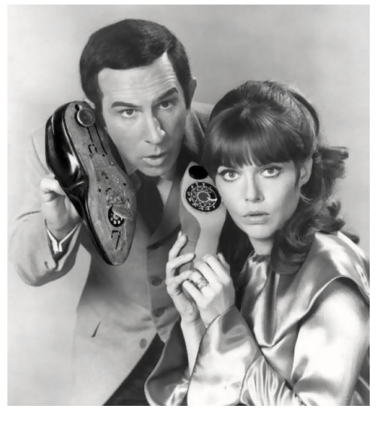 Don Adams & Barbara Feldon. Agents 86 and 99, Get Smart! 1965 - 1970.