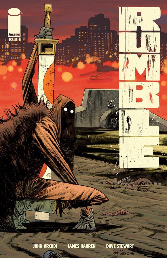Rumble #6, by John Arcudi, James Harren and Dave Stewart  Rumble is back! The strange, but wholly engaging series from Arcudi, Harren and Stewart has returned ...,  #All-Comic #DanPennacchia #DaveStewart #ImageComics #JamesHarren #JohnArcudi #review #Rumble #Rumble#6 See More: http://all-comic.com/2015/rumble-6/