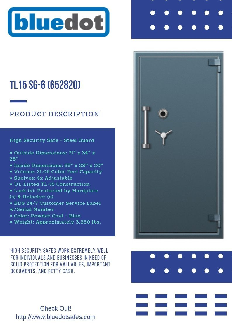 High Security Safes Work Extremely Well For Individuals And Businesses In Need Of Solid Protection For Valuables Important With Images Security Safes Floor Safe Blue Dot