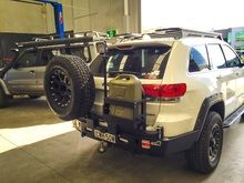 Wk2 Rear Bar With Tyre Carrier Tire Jeep Grand Carriers