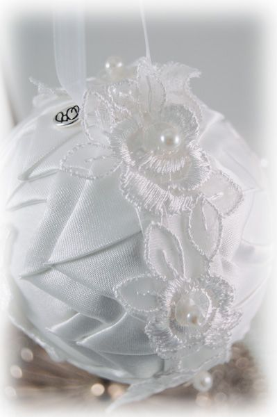 Custom Wedding Ornament Handmade With Dress Material Diy
