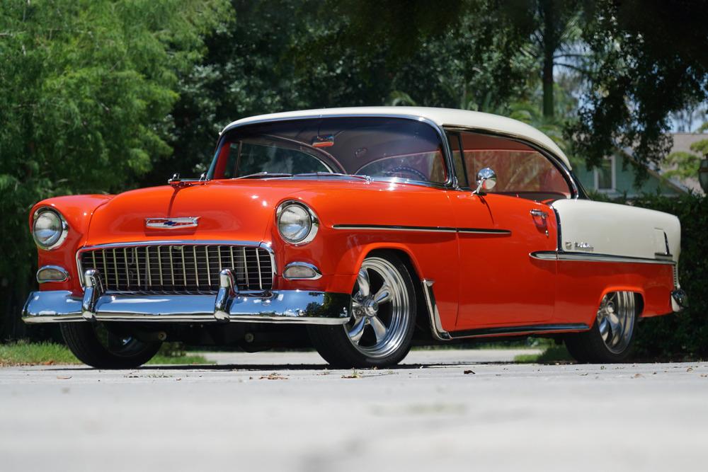 1955 Chevrolet Bel Air Custom Coupe Chevrolet Bel Air 1955 Chevrolet Bel Air