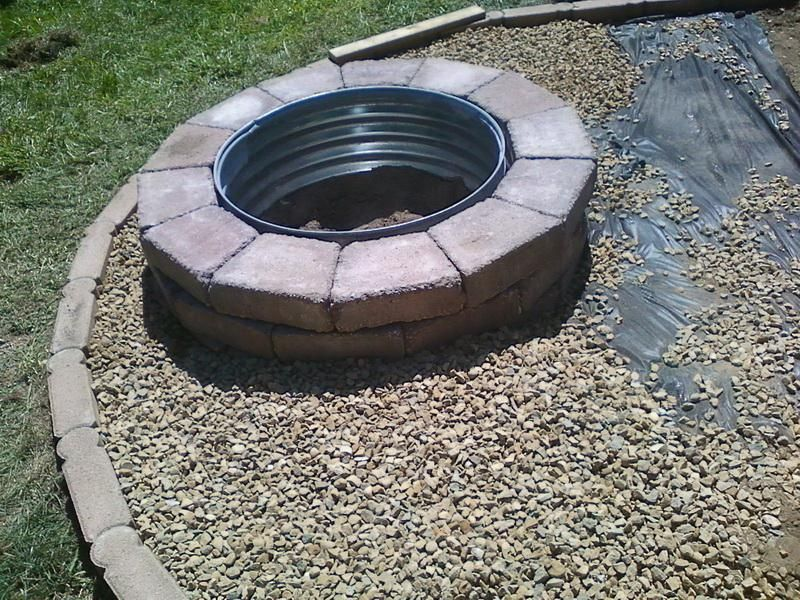 How to Choose Metal Fire Pit Rings Built Outdoor Fire Pit