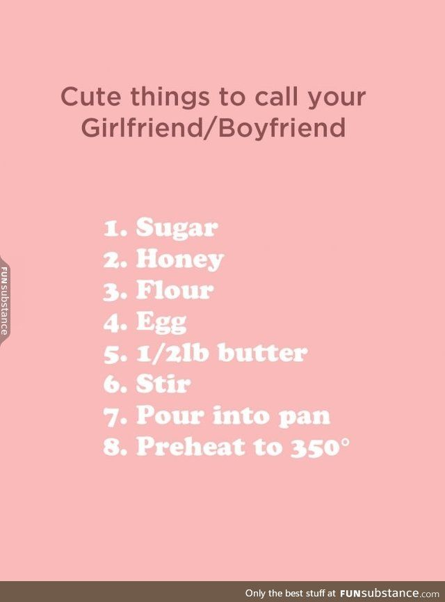 the best nicknames for your girlfriend