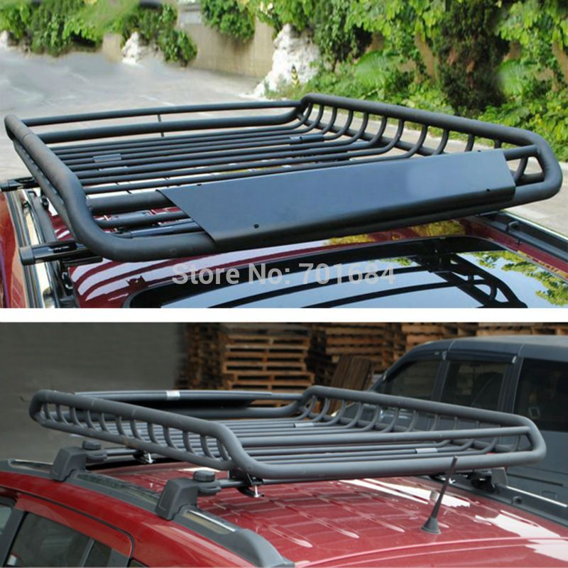 Wotefusi Top Roof Rack Rail Cross Bars Luggage Carrier Cargo
