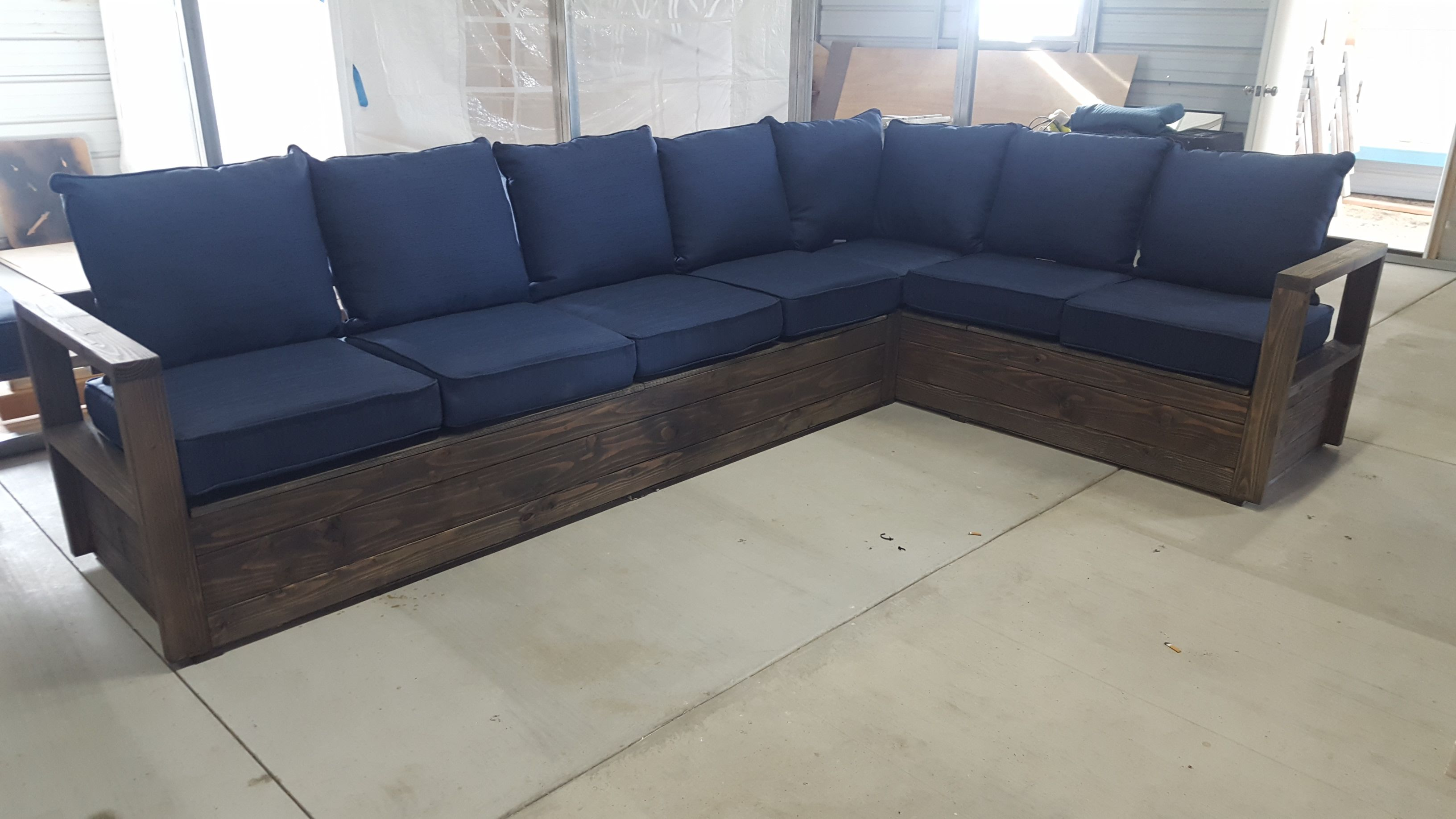 Ana White Storage Sectional Diy Projects Diy Deck Furniture